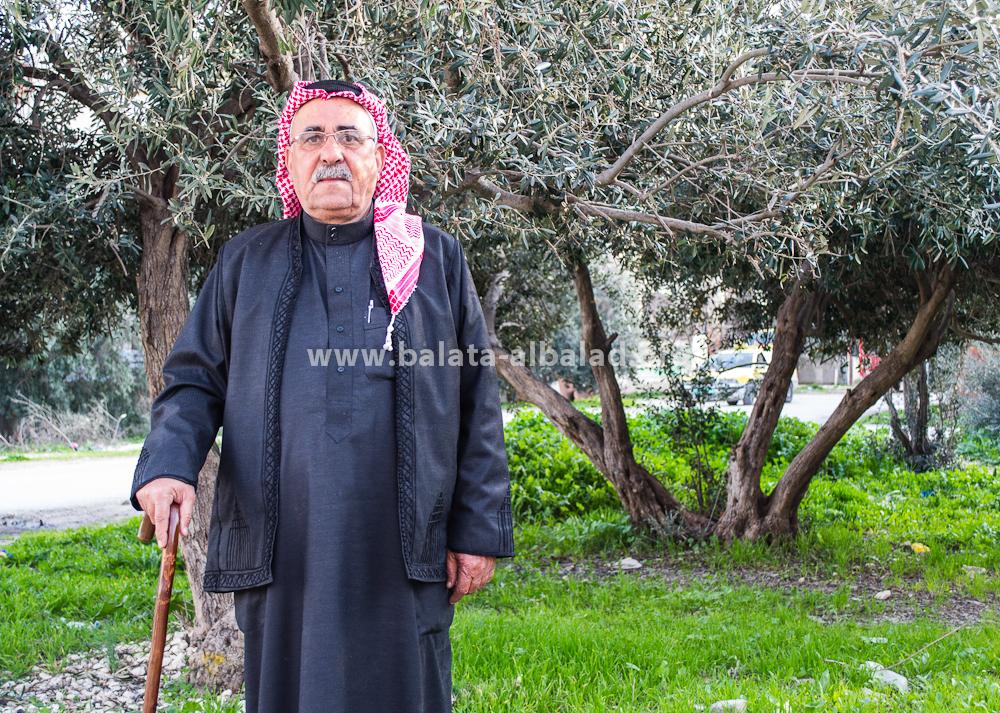 الحاج أبو سلمان (المختار عبد الرؤوف سلمان دويكات)، مختار بلاطة البلد