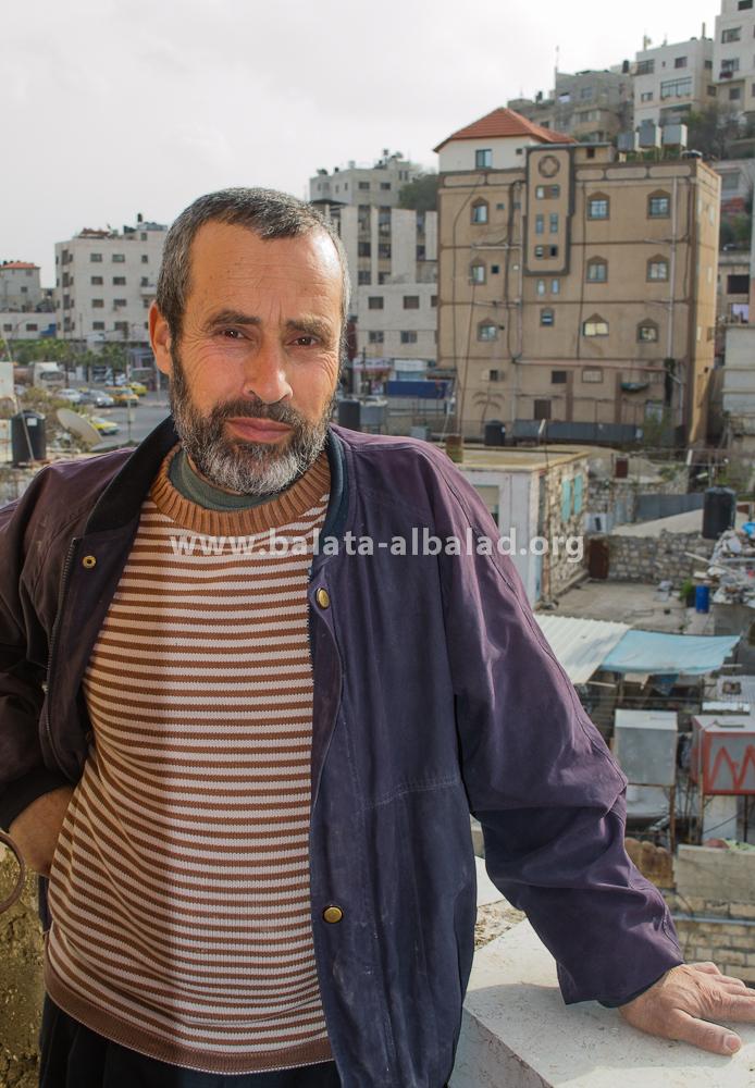 الشيخ خالد مروح (أبو حسان)، امام ومقيم مسجد بلاطة البلد