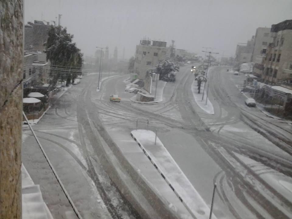 مفرق شارع القدس/شارع بئر يعقوب/بلاطة البلد - تصوير موسى هزيم