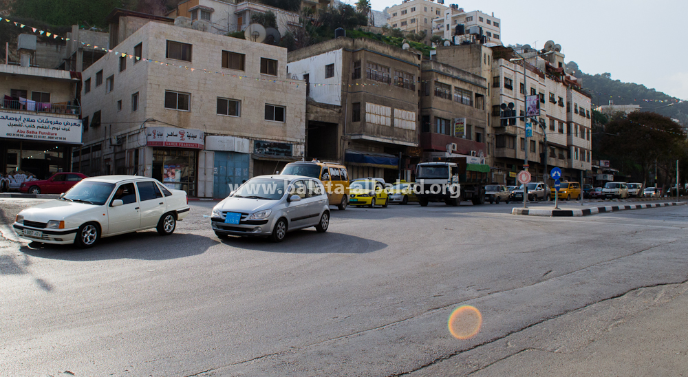 مفرق شارع القدس/شارع بئر يعقوب/بلاطة البلد