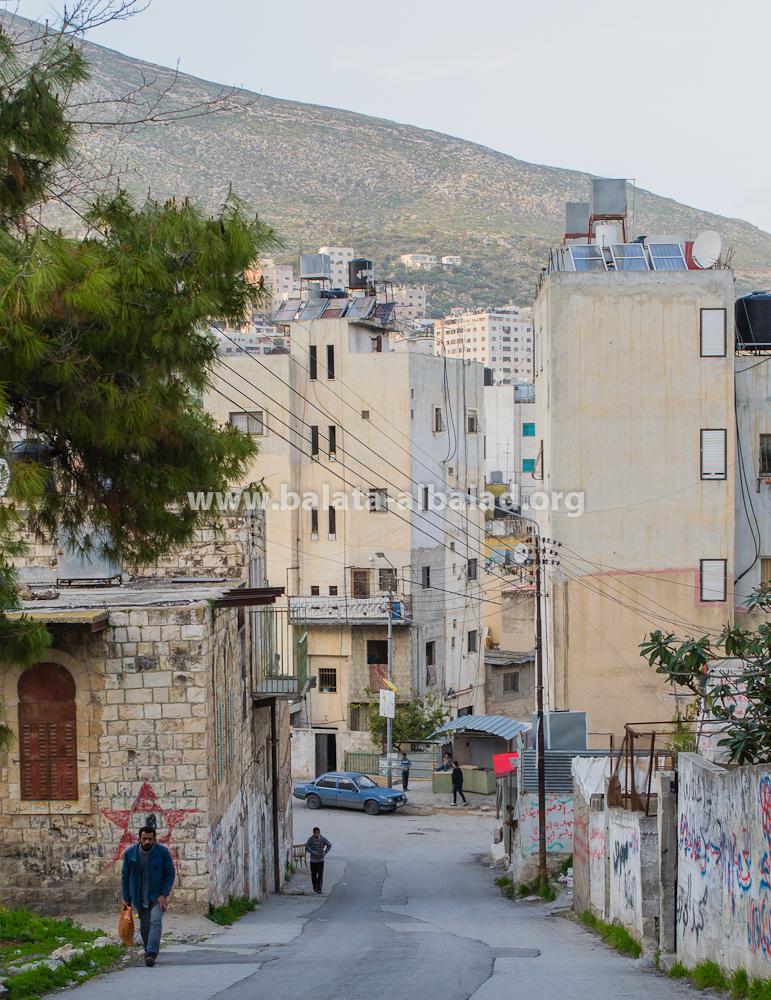 منطقة (الزكاك) بين مفرق شارع القدس/بلاطة البلد وحارة العين